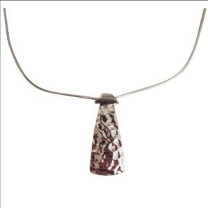 Silpada hammered silver necklace